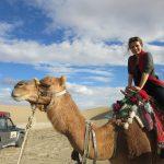 sandy desert in Iran